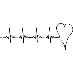 Heart Rate Clipart Black And White | Free download best ...