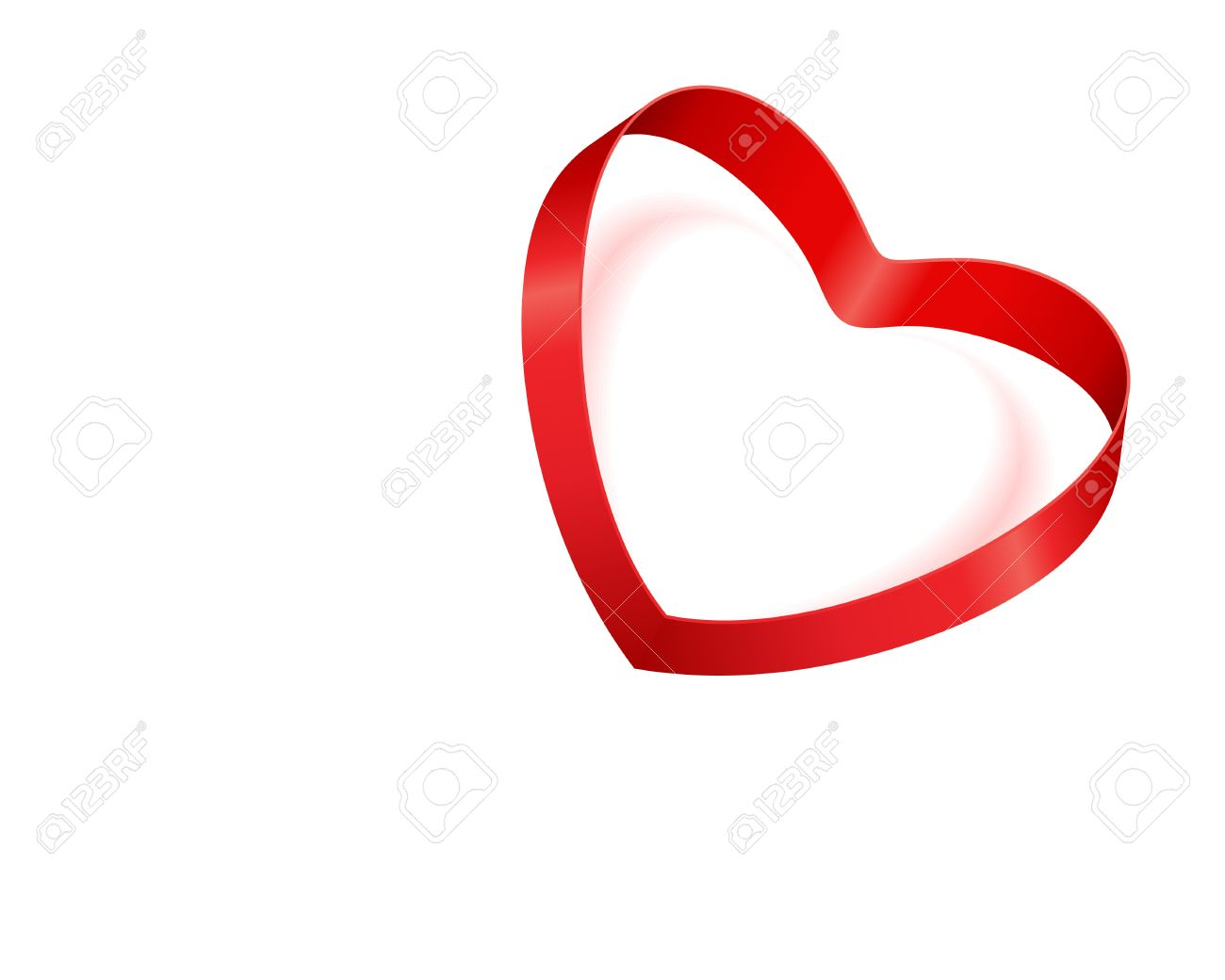 1300x1040 Clipart Free Ribbon Valentine