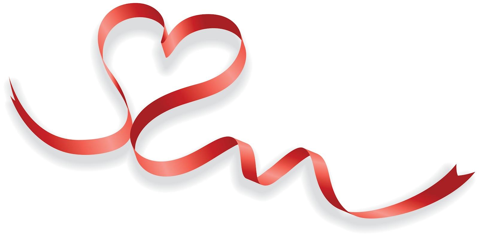 1600x793 Heart Ribbon Clipart