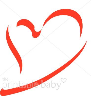 Heart Ribbon Cliparts
