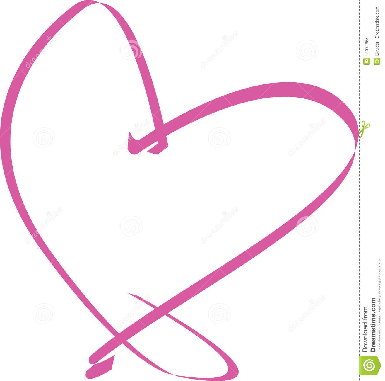 1315x1300 Ribbon Heart Clipart