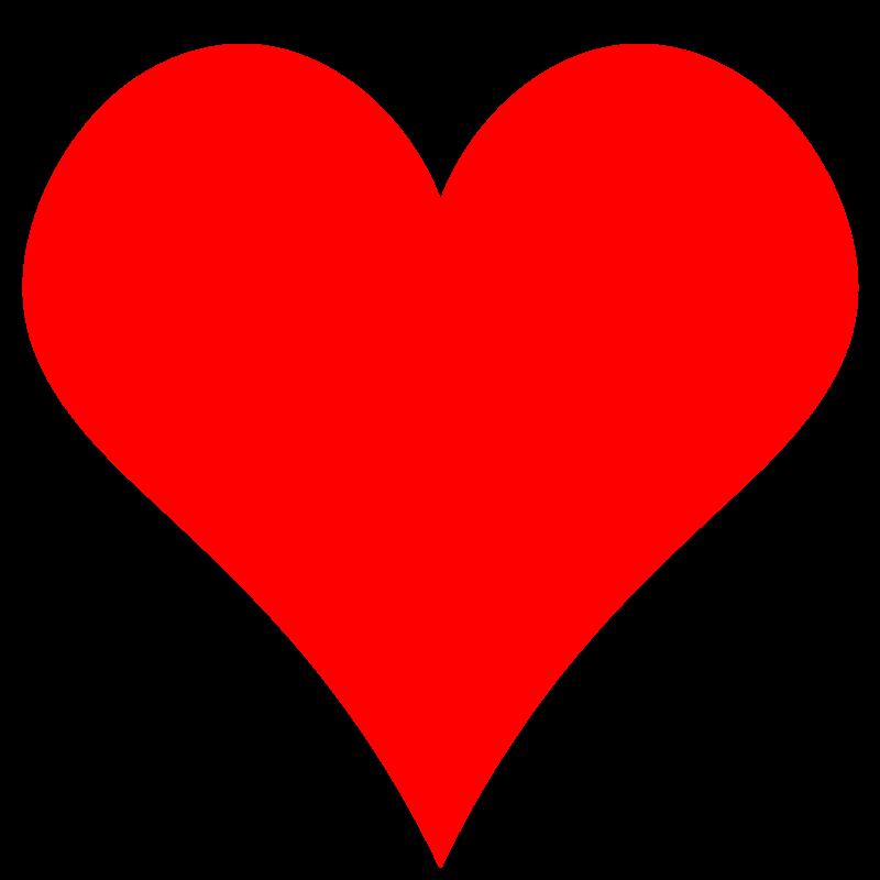 800x800 Free Heart Clipart