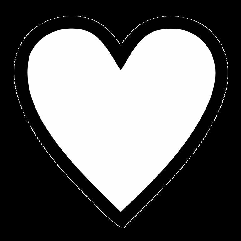 768x768 Heart No Background