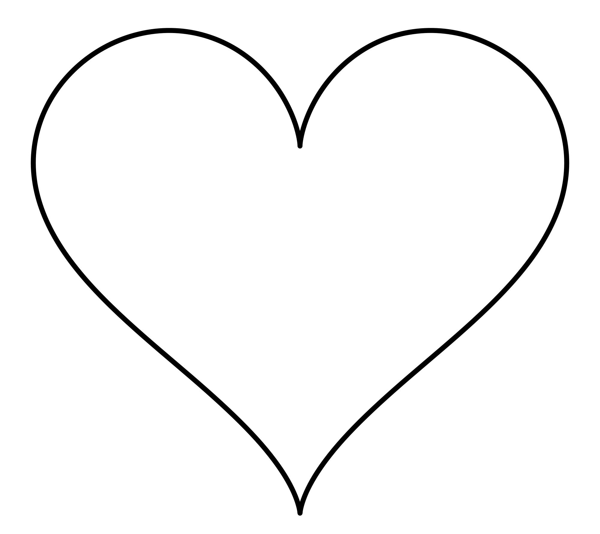 2000x1778 Heart Shape Clipart
