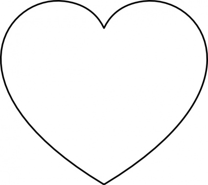 425x378 Love Clipart Black And White
