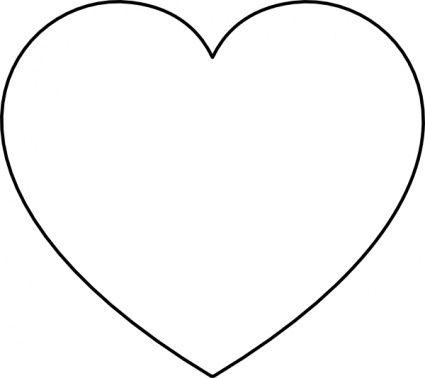 Heart Silhouette Clipart