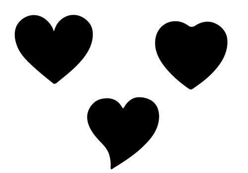 Heart silhouette. Clipart free download best