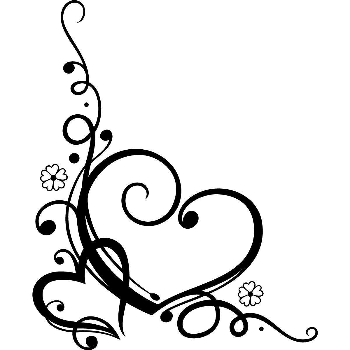 Heart Swirl Clipart | Free download on ClipArtMag