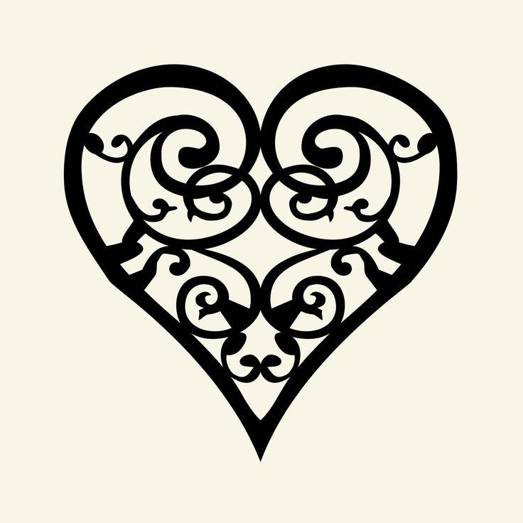 Tattoo Designs Clipart: Heart Tattoo Designs Clipart