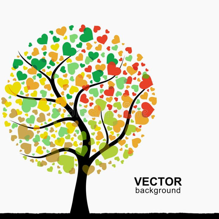 Heart Tree Clipart