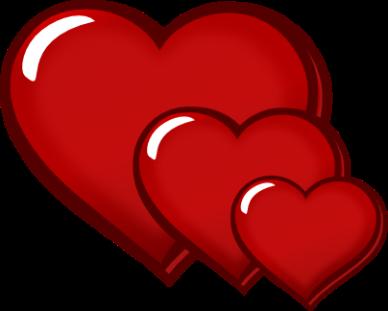 388x311 Clip Art Of Hearts