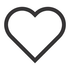 225x225 Double Heart Outline Clip Art