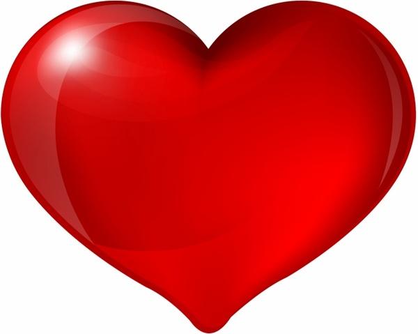 600x479 Red Heart Free Vector In Adobe Illustrator Ai ( Ai