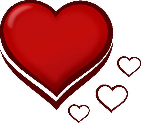600x521 Small Heart Clipart 2222062