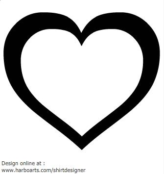 335x355 Vector Clipart Heart