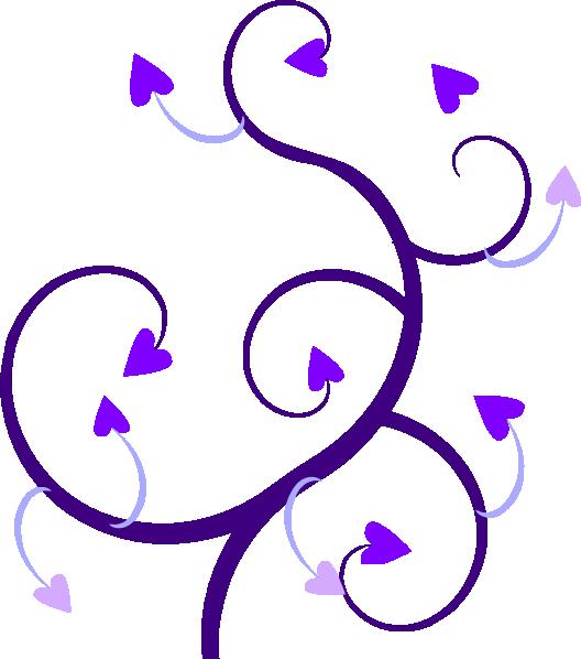 Heart Vine Clipart