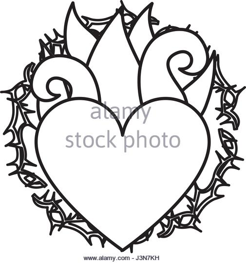 505x540 Flames Heart Stock Photos Amp Flames Heart Stock Images