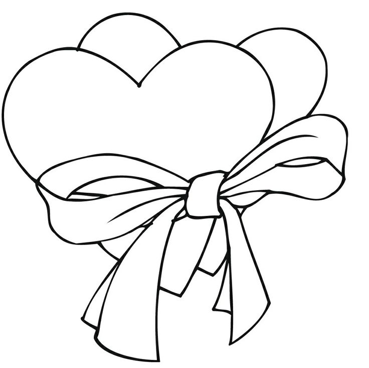 Heart With Flames Coloring Pages