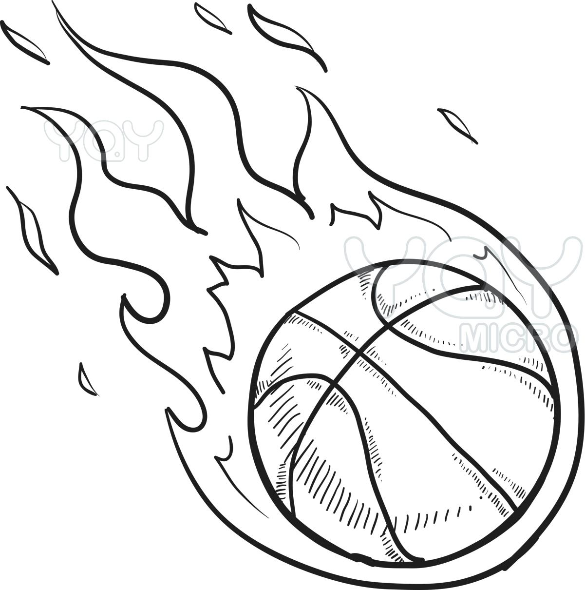 Heart With Flames Coloring Pages | Free download on ClipArtMag