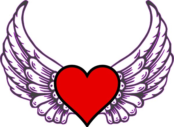 600x438 Heart Wing Red Google Search