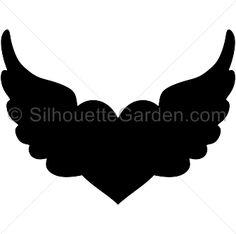 236x234 Heart Wing Logo Clip Art