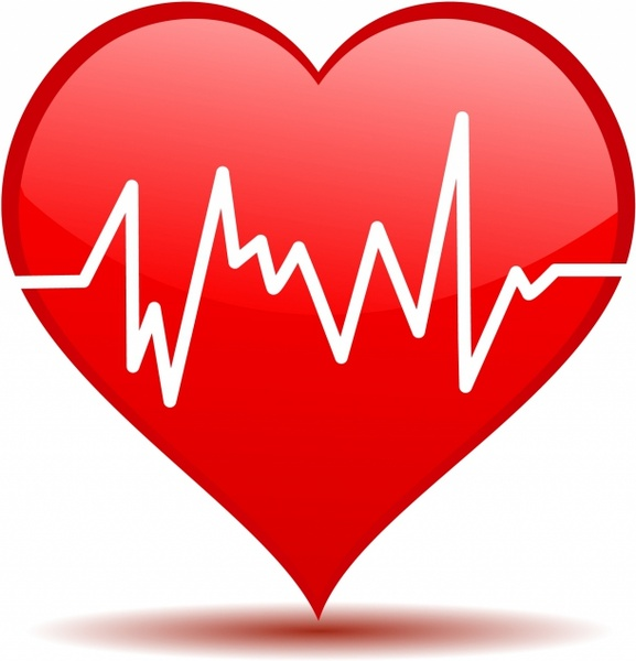 577x600 Heartbeat Hearts Clipart, Explore Pictures