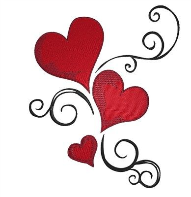 389x400 Hearts Clipart Different Kind