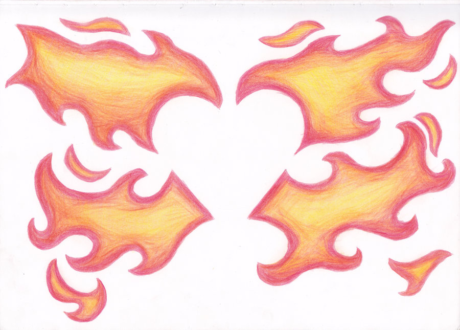 900x645 Flaming Heart By Mczlik