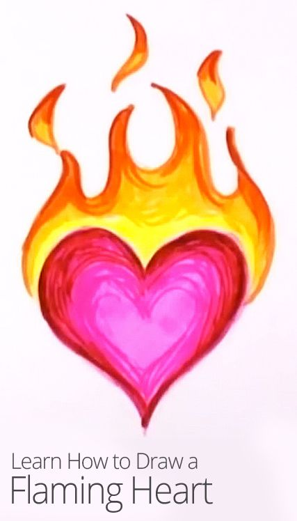 427x748 Drawn Flame Pink