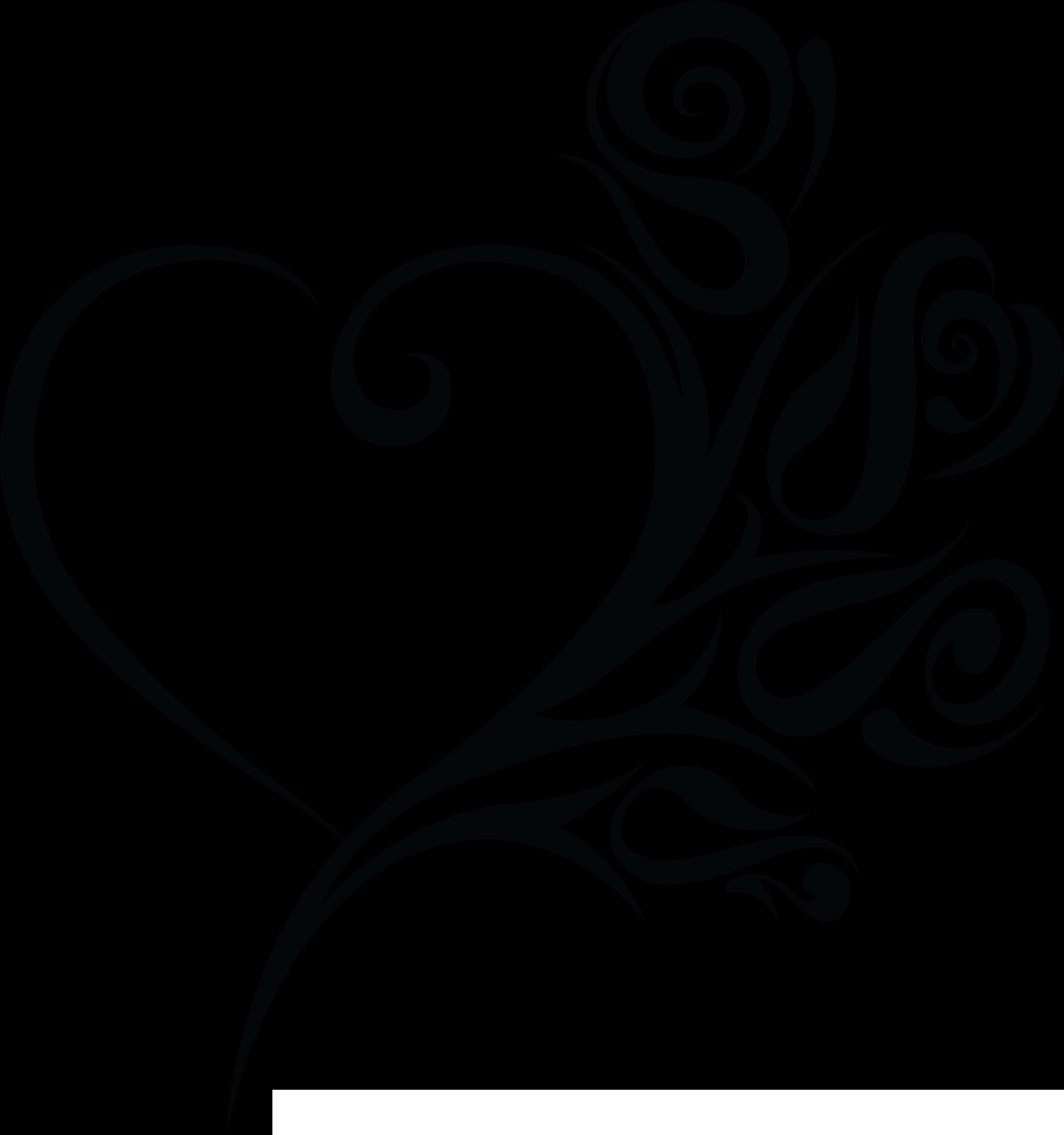 4000x4266 Hearts Clipart Wedding