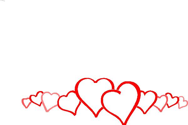 600x398 Hearts Clip Art