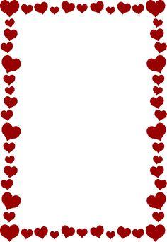 236x342 Heart Border Clip Art