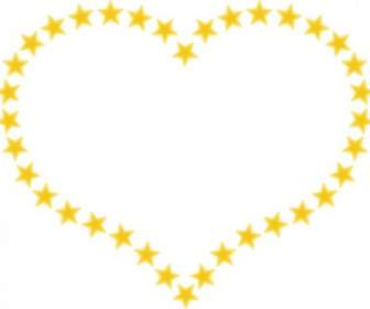 336x280 Red Heart Shaped Border With Little Hearts Clip Art Vector Clip