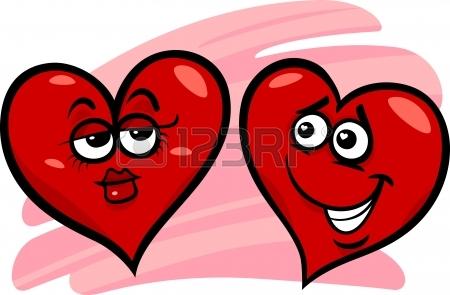 450x295 Cartoon Illustration Of Sad Broken Heart In Love On Valentine