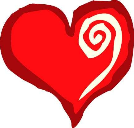 433x413 Cartoon Heart Exploding On A Heart Cartoon