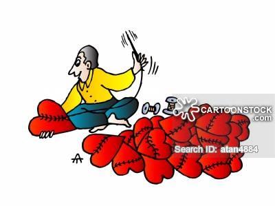 400x299 Broken Hearts Cartoons And Comics