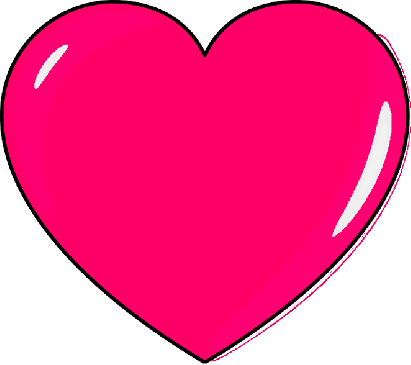 800x712 Small, Outline, Cartoon, Heart, Love, Pink, Hearts