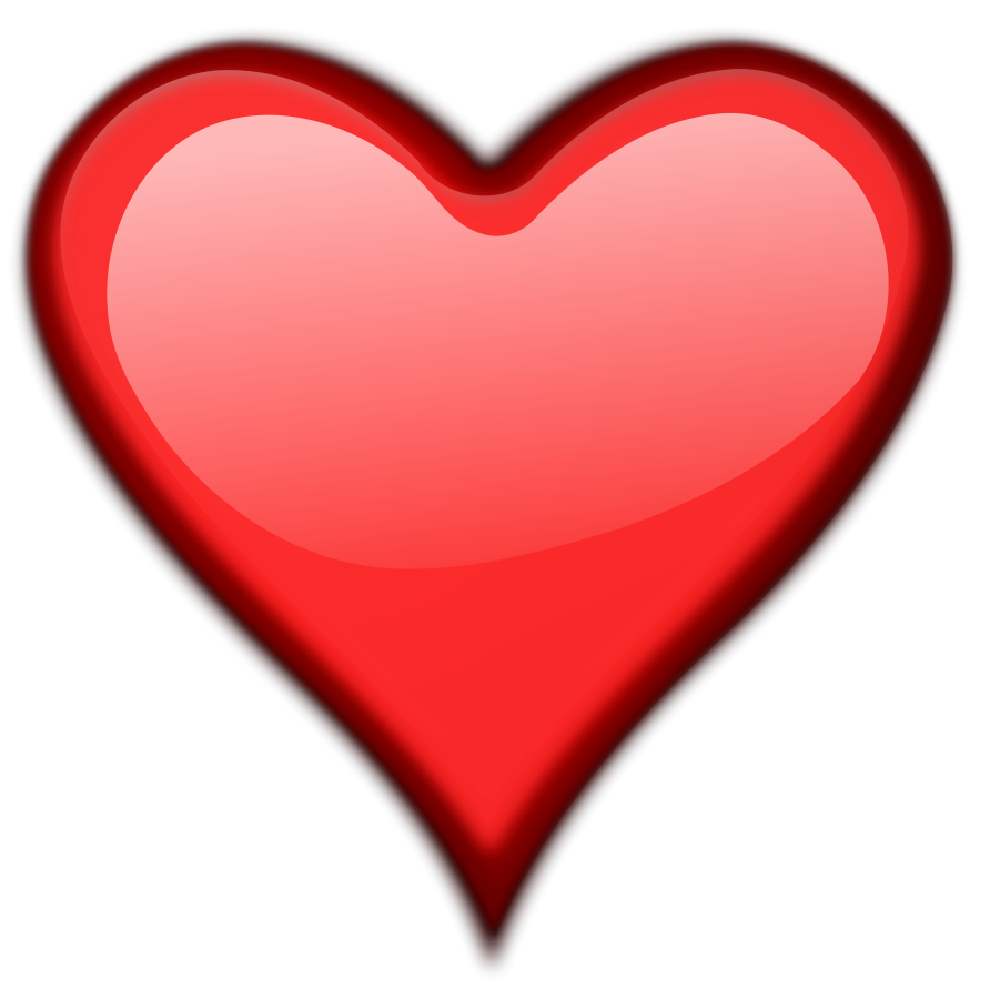 892x900 Hearts Free Heart Clip Art Download Danasrgd Top