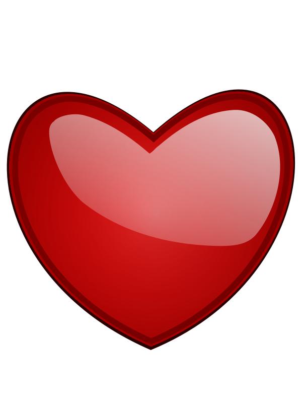 600x800 Hearts Happy Valentine Heart Clip Art Happy Valentine Heart