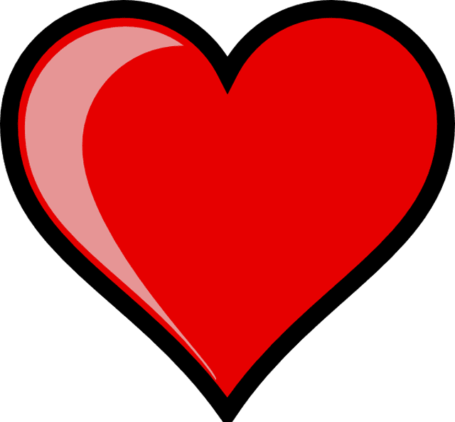 640x594 Photos Clip Art Of Hearts Free,