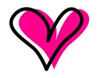400x311 Small Clip Art Hearts Free