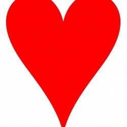 250x250 Traditional Clip Art Hearts Clip Art Clip Art Free Heart