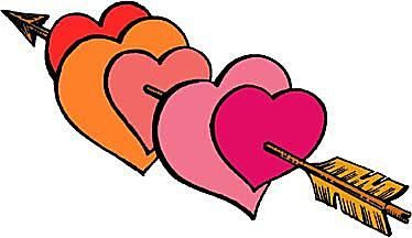 374x216 Hearts Clip Art