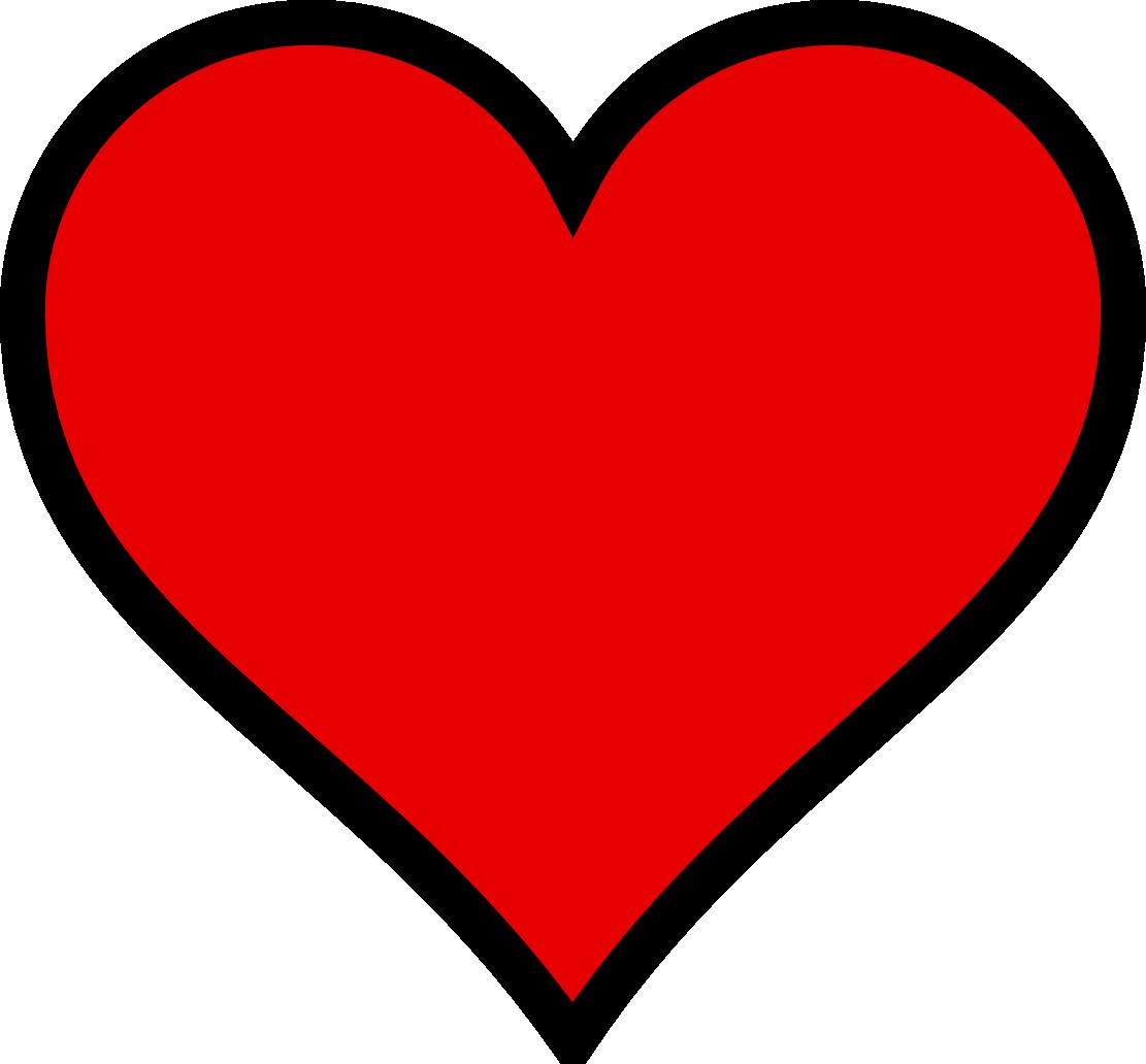 1111x1032 Heart Clipart Black