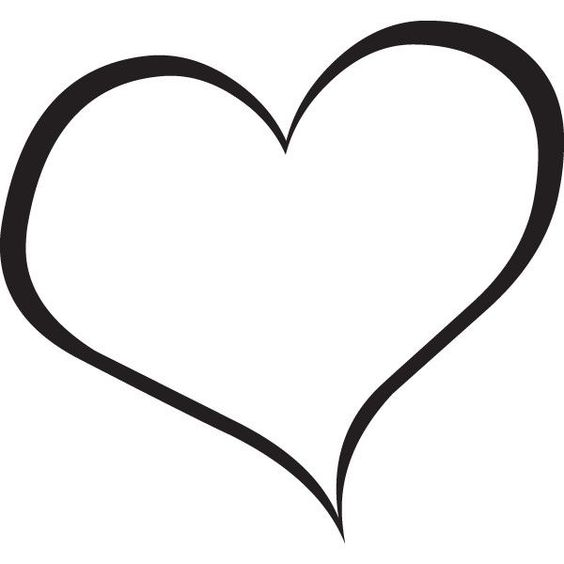 564x564 Heart Black And White Broken Heart Clipart Black And White Free