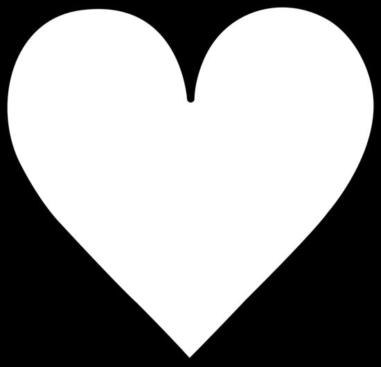 550x530 Heart Black And White Heart Black And White Free Clipart Heart