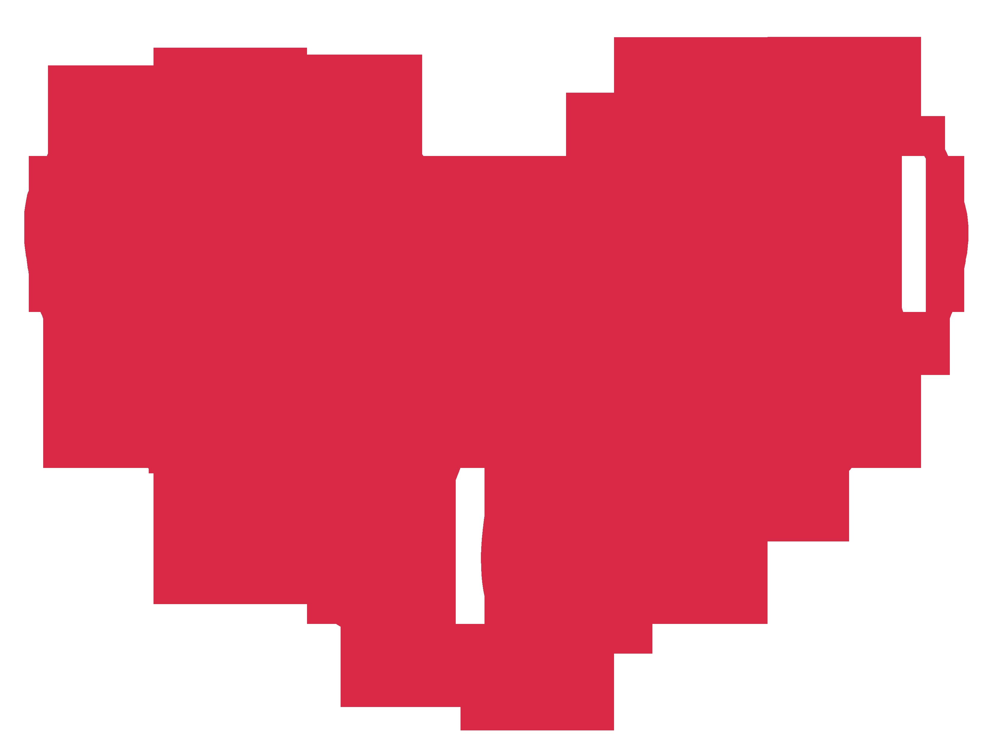 3292x2517 Heart Shaped Clipart Open Heart