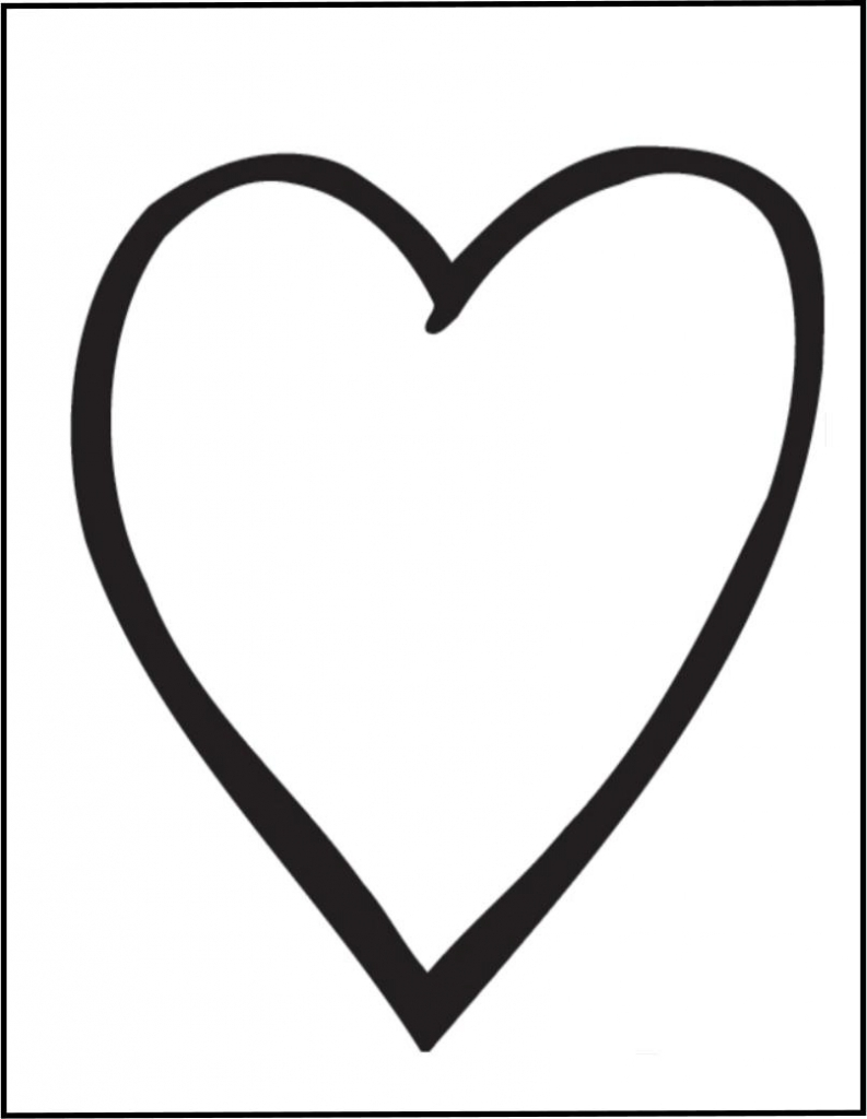 793x1024 Drawings Of Hearts Drawings Of Heart Clipart Best