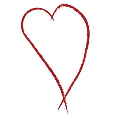 400x400 Drawn Heart Simple