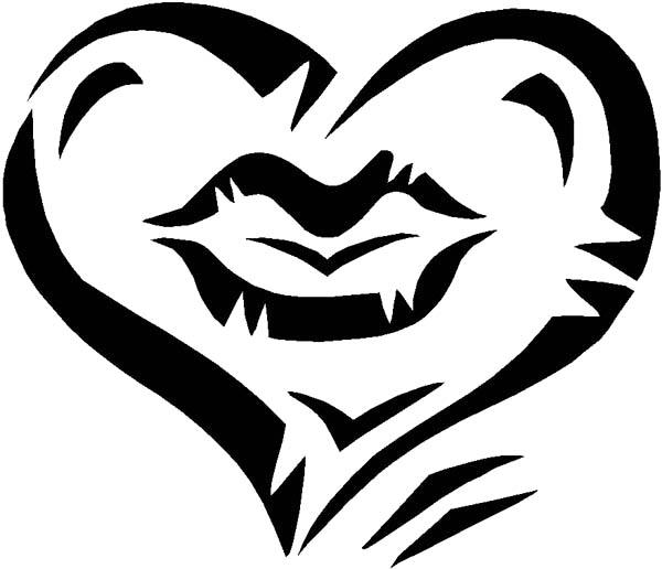 600x516 Drawn Love Love Heart